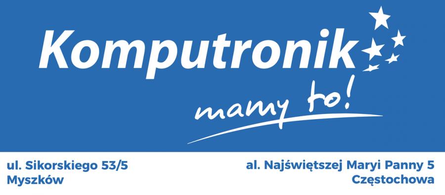 Wielkie otwarcie Salonu Komputronik w Częstochowie: 21 maja 2021 o godzinie 10:00. Super promocje!